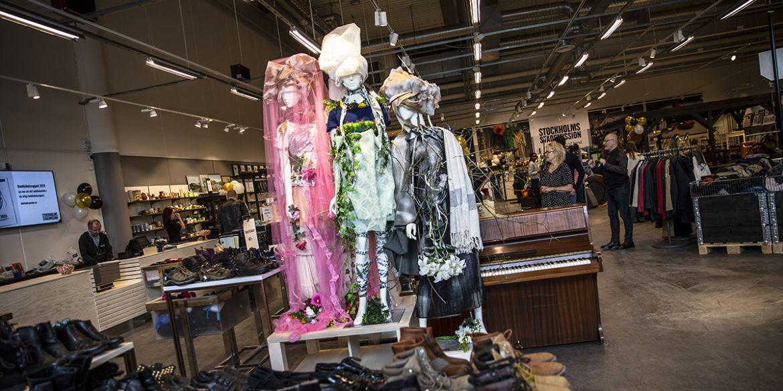 Ny second hand butik i Kungens Kurva | Stockholms Stadsmission